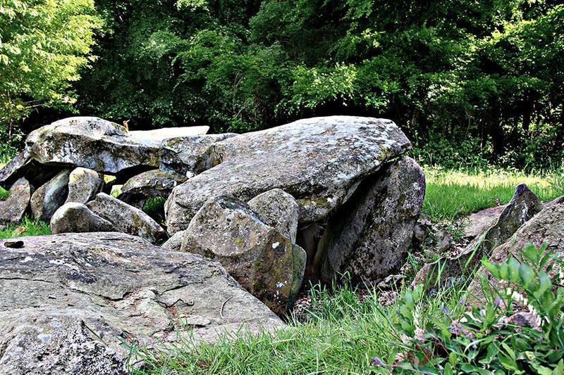 Photo du Monument Historique Allée couverte situé à Saint-Symphorien-des-Monts