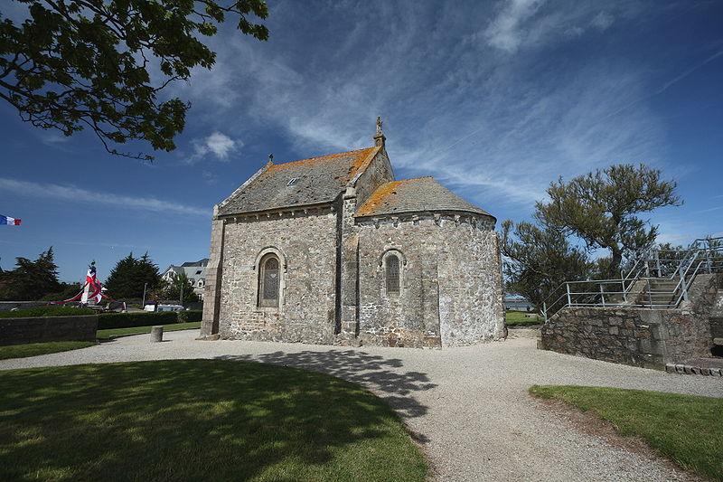 Photo du Monument Historique La Chapelle des Marins situé à Saint-Vaast-la-Hougue