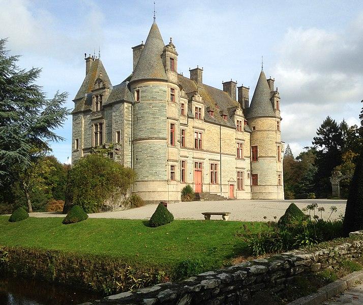 Photo du Monument Historique Domaine du château de Tourlaville (également sur commune de La Glacerie) situé à Tourlaville