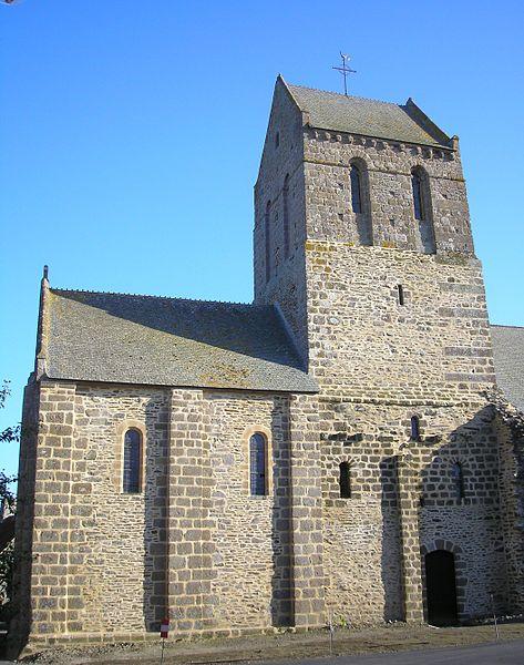 Photo du Monument Historique Ancien prieuré de Saint-Léonard situé à Vains