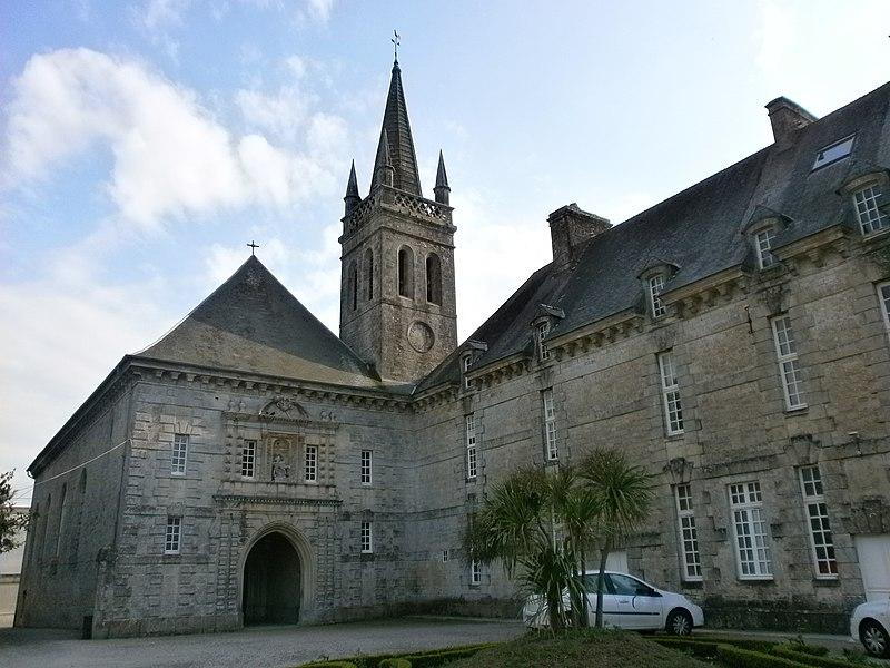 Photo du Monument Historique Hospice et sa chapelle situé à Valognes