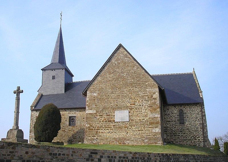 Photo du Monument Historique Chapelle Notre-Dame-de-Montéglise situé à Barenton