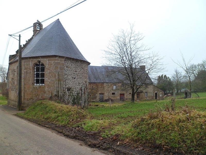 Photo du Monument Historique Chapelle Sainte-Barbe situé à Carnet