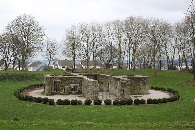 Photo du Monument Historique Ancienne redoute du Tôt situé à Equeurdreville-Hainneville