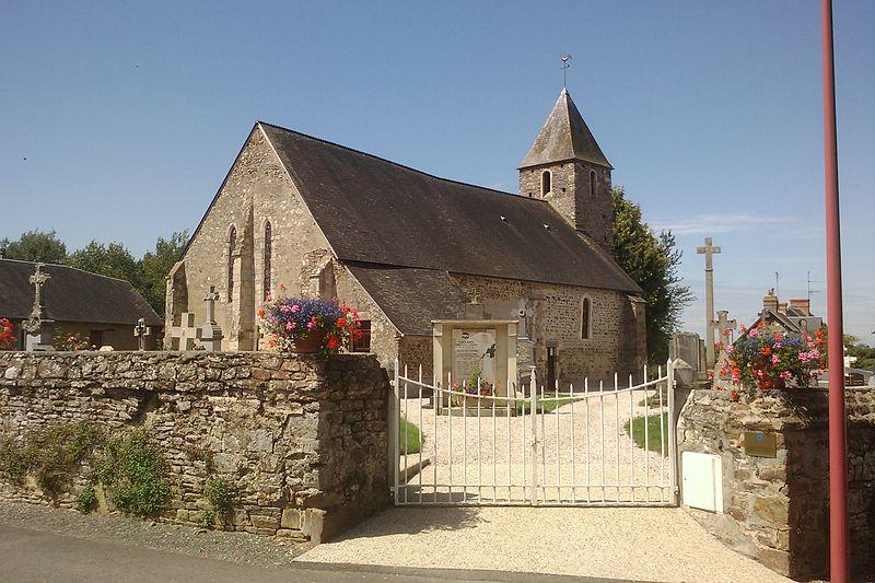 Photo du Monument Historique Eglise de Saint-Symphorien-les-Buttes situé à Saint-Amand