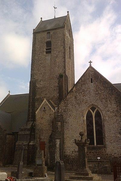 Photo du Monument Historique Eglise Notre-Dame d'Alleaume situé à Valognes