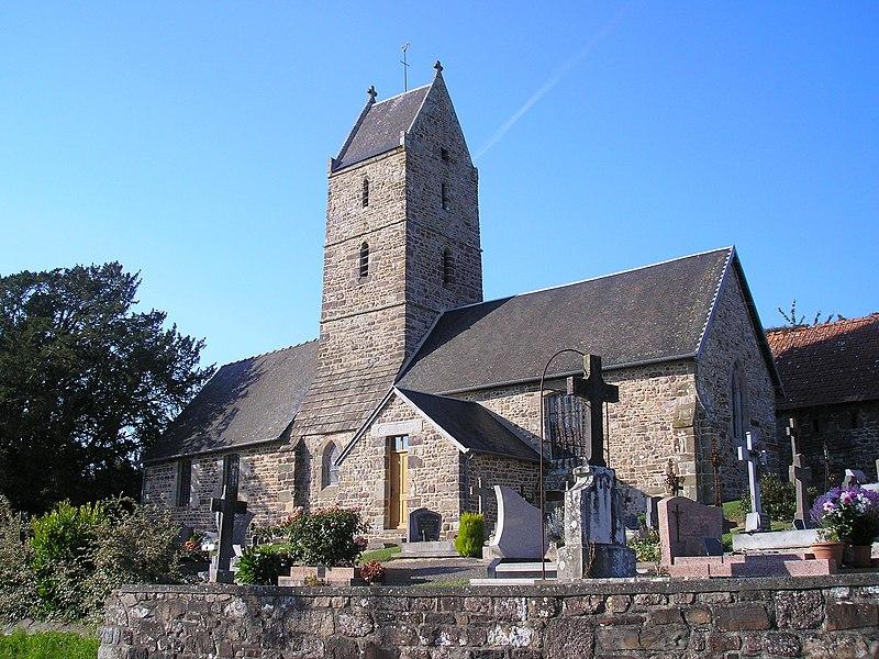 Photo du Monument Historique Eglise de Saint-Léger situé à Saint-Jean-des-Champs