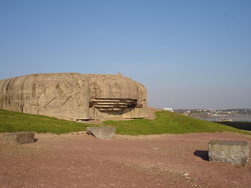Photo du Monument Historique Batterie d'artillerie du Roc situé à Granville