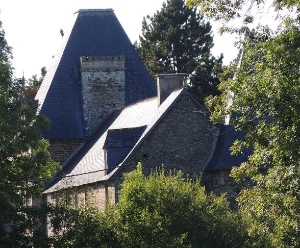 Photo du Monument Historique Manoir situé à Vains