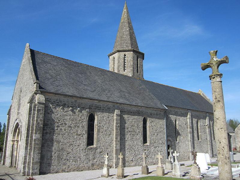 Photo du Monument Historique Eglise Saint-Julien situé à Urville