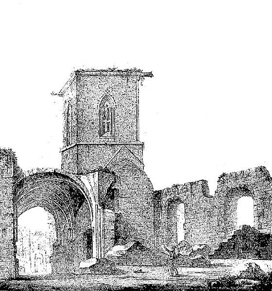 Photo du Monument Historique Ancienne abbaye de Blanchelande situé à Neufmesnil