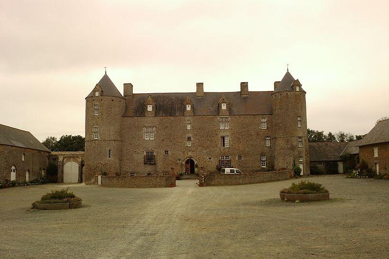 Photo du Monument Historique Manoir de Bricqueboscq situé à Vesly
