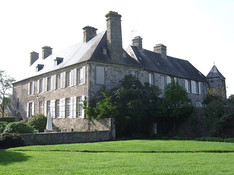 Photo du Monument Historique Manoir de Saint-Malo situé à Saint-Malo-de-la-Lande
