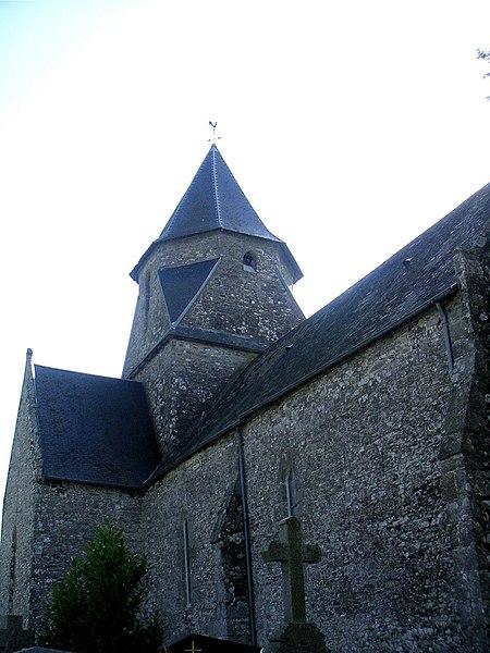 Photo du Monument Historique Eglise Saint-Martin situé à La Meurdraquière