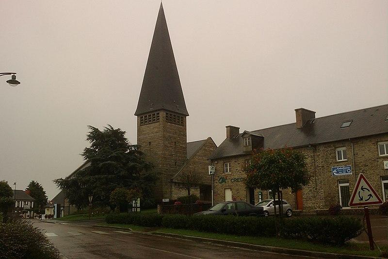 Photo du Monument Historique Eglise situé à Saint-Jean-des-Baisants