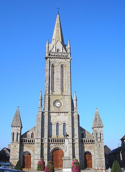 Photo du Monument Historique Eglise Saint-Patrice situé à Le Teilleul