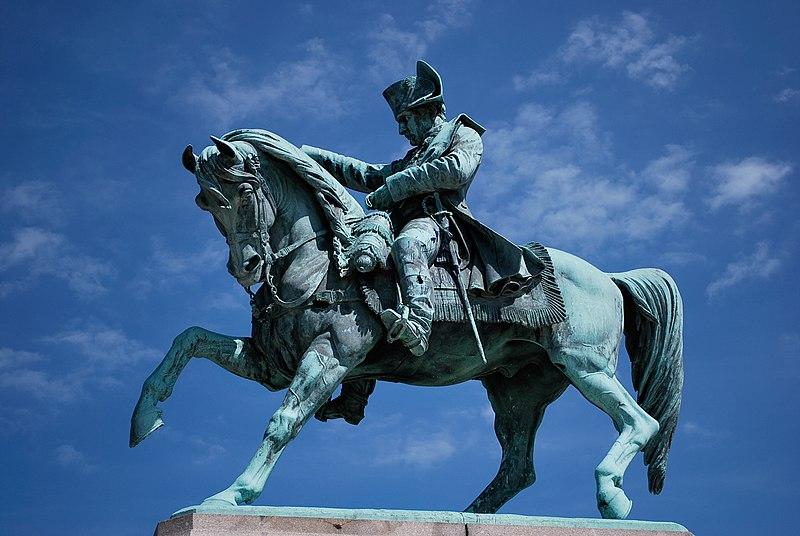 Photo du Monument Historique Statue de Napoléon Ier, à Octeville situé à Cherbourg