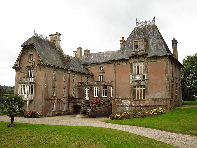 Photo du Monument Historique Parc du château de la Germonière situé à Le Vast