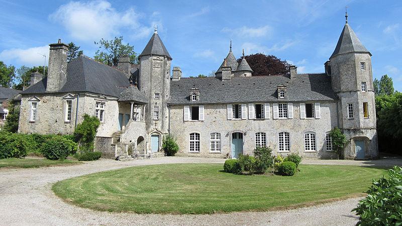 Photo du Monument Historique Manoir de la Cour situé à Flottemanville