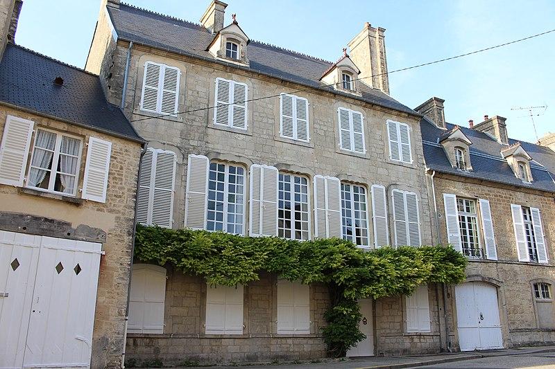 Photo du Monument Historique Hôtel Anneville du Vast situé à Valognes
