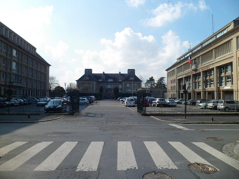 Photo du Monument Historique Ensemble préfectoral situé à Saint-Lô