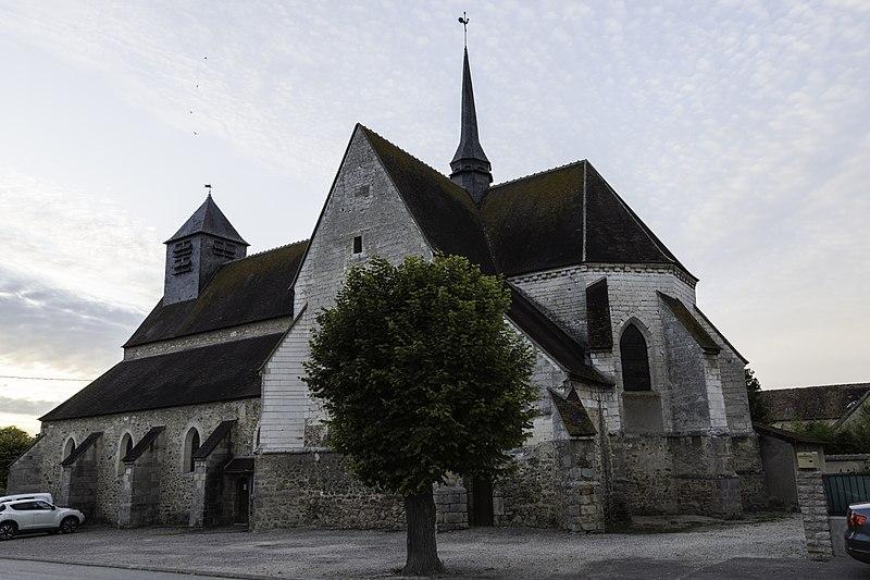 Photo du Monument Historique Eglise situé à Anglure