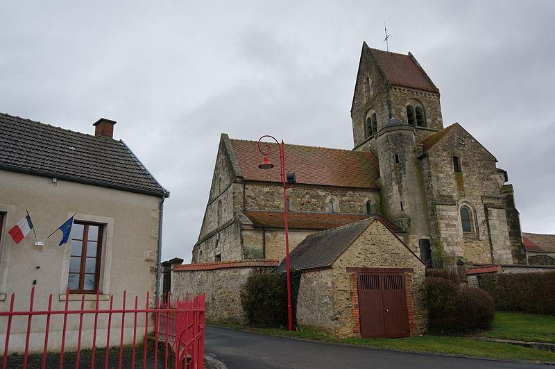 Photo du Monument Historique Eglise situé à Aougny