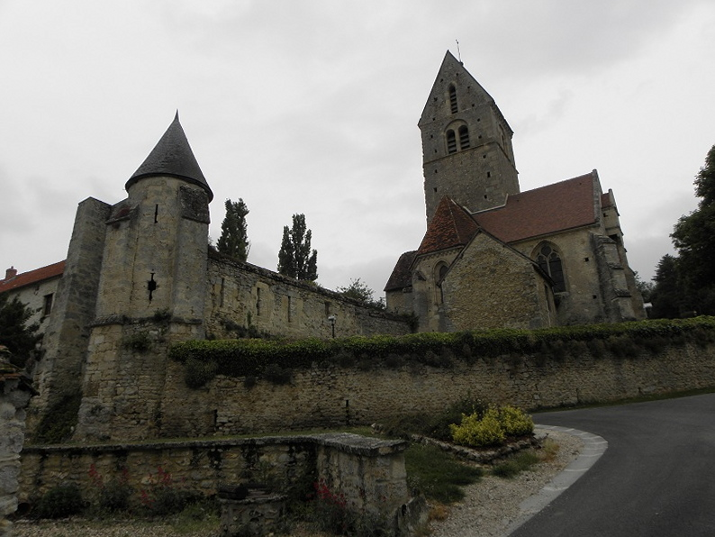 Photo du Monument Historique Château situé à Arcis-le-Ponsart