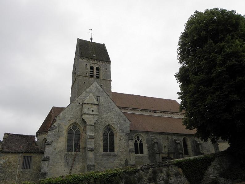 Photo du Monument Historique Eglise situé à Arcis-le-Ponsart