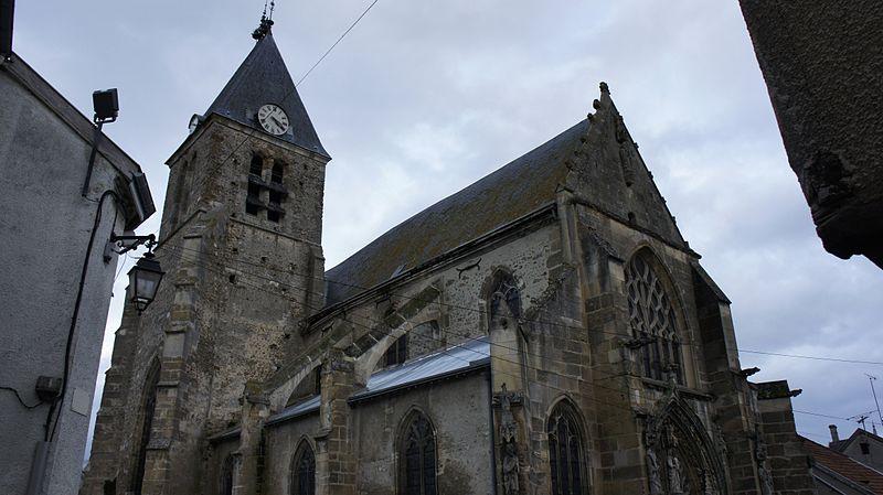 Photo du Monument Historique Eglise Saint-Trésain situé à Avenay-Val-d'Or