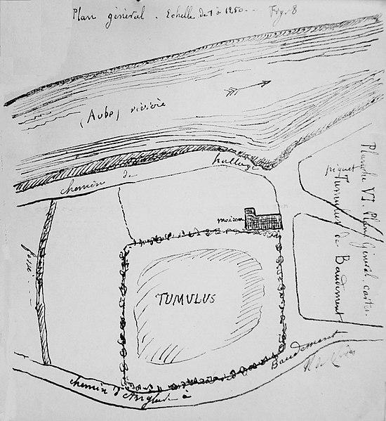 Photo du Monument Historique Tumulus situé à Baudement