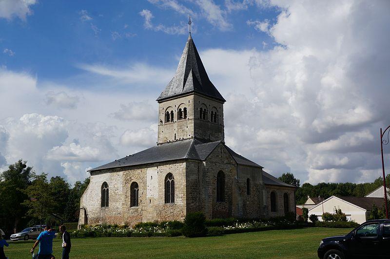 Photo du Monument Historique Eglise Saint-Rémy situé à Bazancourt