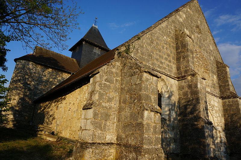 Photo du Monument Historique Eglise situé à Beaunay