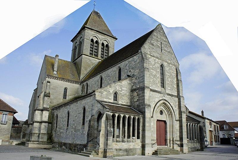 Photo du Monument Historique Eglise (ruines) situé à Bétheny