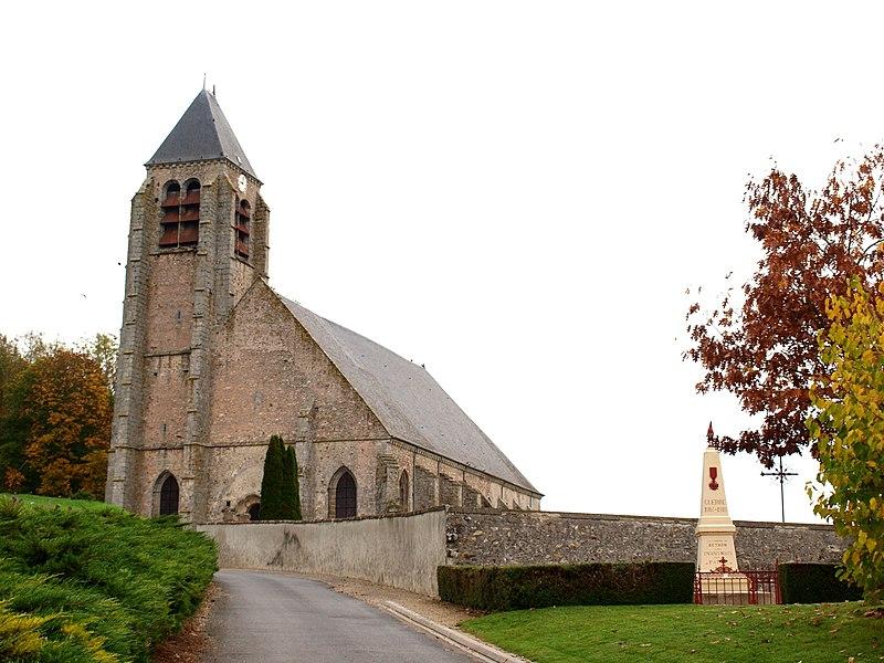 Photo du Monument Historique Eglise situé à Bethon