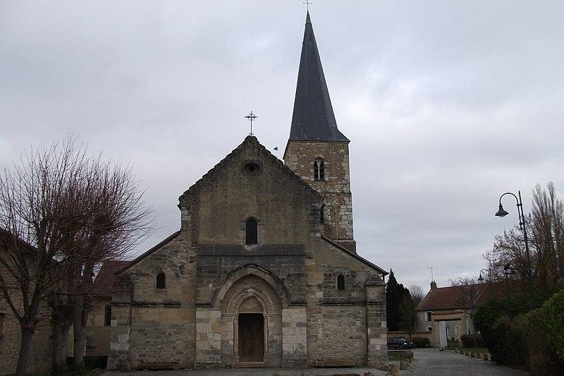 Photo du Monument Historique Eglise Saint-Martin situé à Bezannes