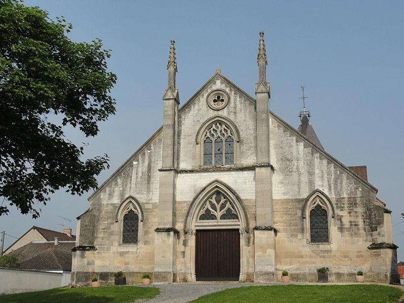 Photo du Monument Historique Eglise Saint-Hélain situé à Bisseuil