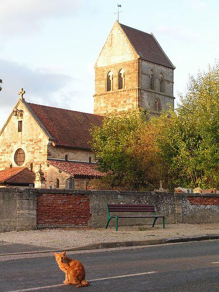 Photo du Monument Historique Eglise situé à Blesme