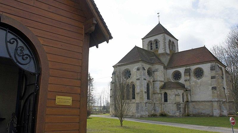 Photo du Monument Historique Eglise situé à Boult-sur-Suippe