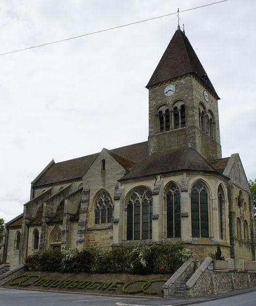 Photo du Monument Historique Eglise situé à Bourgogne