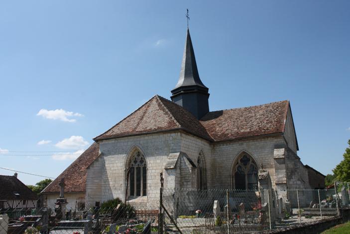 Photo du Monument Historique Eglise situé à Bréban