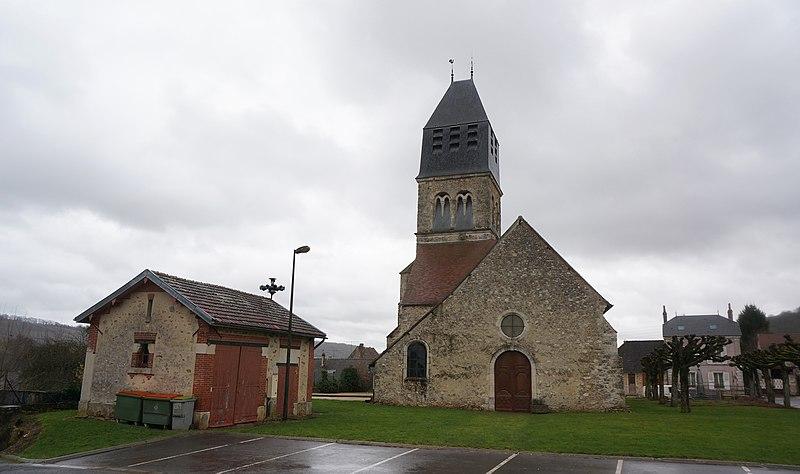 Photo du Monument Historique Eglise situé à Le Breuil