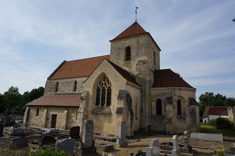 Photo du Monument Historique Eglise situé à Breuil