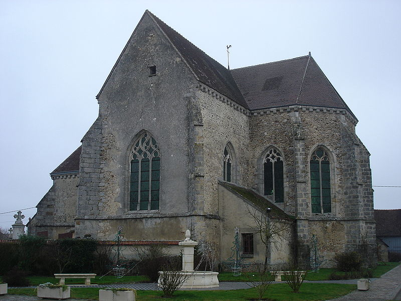 Photo du Monument Historique Eglise situé à Broussy-le-Grand