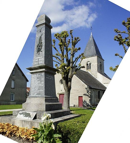 Photo du Monument Historique Eglise situé à Caurel