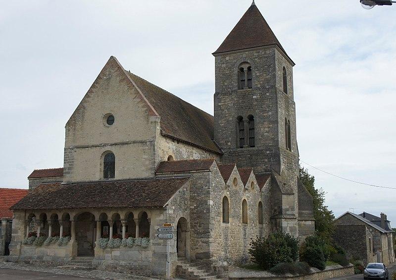 Photo du Monument Historique Eglise situé à Cauroy-lès-Hermonville
