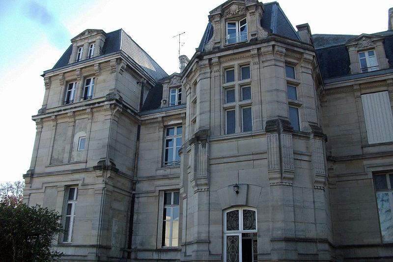 Photo du Monument Historique Château Jaquesson situé à Châlons-en-Champagne