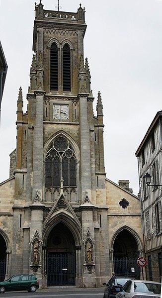 Photo du Monument Historique Eglise Saint-Loup situé à Châlons-sur-Marne