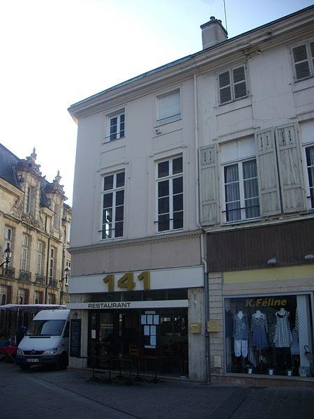 Photo du Monument Historique Maison situé à Châlons-en-Champagne