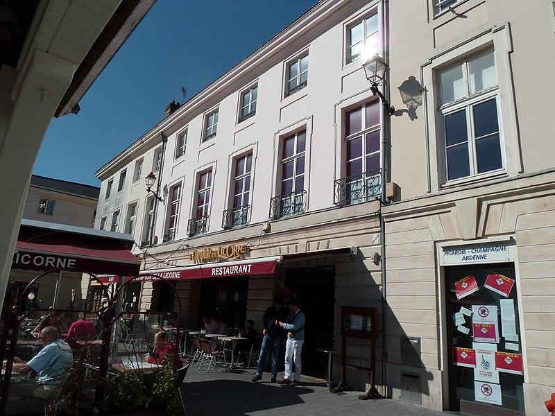 Photo du Monument Historique Maison situé à Châlons-sur-Marne